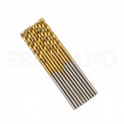 Set de brocas 1.0 mm con titanio
